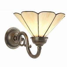 replica victorian or edwardian period wall light with shade