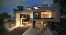 Neubau Stadtvilla Modernes Design Luxus Architektur