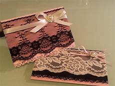 lace wedding invitations down