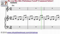 carol of the bells sheet music and carol christmas sheet