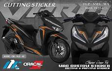 Modifikasi Vario 150 2019 by Modifikasi Sticker Vario 150 Terbaru 2019 Custom Sticker
