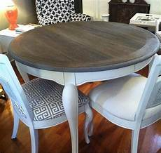 Esstisch Grau Gebeizt - tea vinegar steel wool stained table find an sturdy