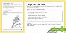 sports worksheets ks2 15817 pe cover lesson design your own sport worksheet worksheet pe ks3 ks4