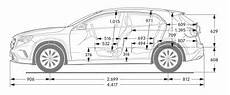 Mercedes Gla X 156 Abmessungen Technische Daten