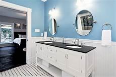 Black And Blue Bathroom Ideas Blue And White Master Bath