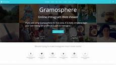 gramosphere instagram web viewer