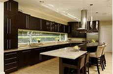 Ultra Kitchen And Bath Design by New Open Kitchen With Large Prep Island And Builtin Table