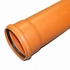 kg rohr dn110 1000mm 1m abwasserrohr 100mm kanalrohr orange