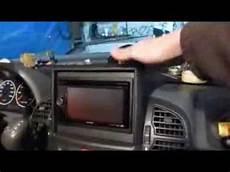 einbau umbau doppel din radio in wohnmobil ducato 244