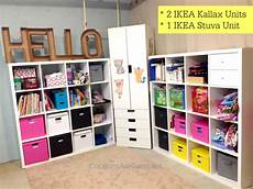 my ikea craft room turned an unfinished basement into a