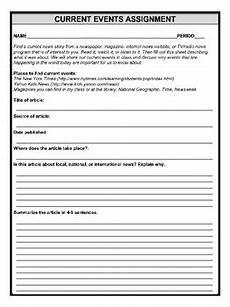 current events homework worksheet by mz s english teacher tpt