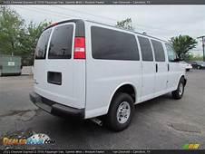 2011 Chevrolet Express LS 3500 Passenger Van Summit White
