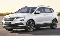 skoda karoq suv to be launched in one variant 6 colours