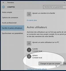 supprimer compte invité windows 10 windows 10 cr 233 er un nouveau compte administrateur