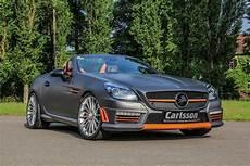 Slk 55 Amg - mercedes slk 55 amg gets carlsson interior with orange and