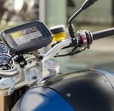 endlich gegl 252 ckt smartphone halter f 252 rs motorrad welt