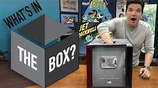 what s in the box challenge youtube play button surprise
