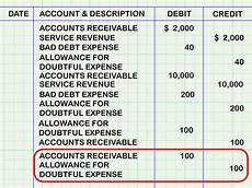 allowance for doubtful debts in balance sheet how to account for doubtful debts 11 steps with pictures