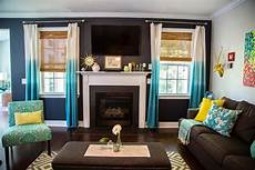 Brown And Turquoise Living Room Decor