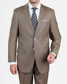 mens 2 button regular fit taupe cappuccino mocca ligh