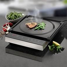 table de cuisson mobile 224 induction avec plaque teppanyaki