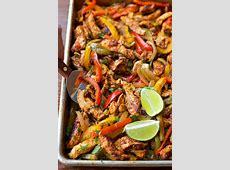 Sheet Pan Chicken Fajitas   Life Made Simple