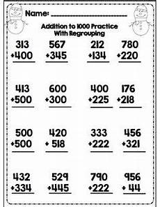 addition within 1000 with regrouping worksheets 9791 1000 images about addition on word problems addition and subtraction and math
