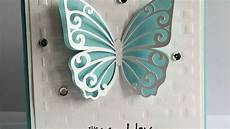 how to make a pretty dimensional butterfly card diy