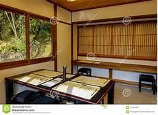 Intérieur Maison Japonaise Int 233 Rieur De Maison Japonaise Traditionnelle Image Stock Image Du Vert Pri 232 Re 107824057
