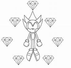 Malvorlagen Gold Gold Sonic Coloring Pages
