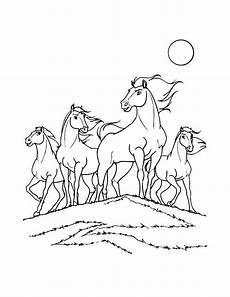dibujo para colorear spirit el caballo mustang dibujos