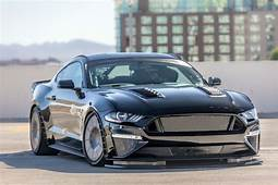 Custom 2018 Ford Mustang Fastback With Gloss Black
