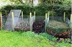 efeu sichtschutz selber machen compost bins diy