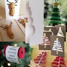einfache weihnachtsdeko selber machen 100 tolle weihnachtsbastelideen