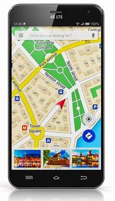 gps f 252 r radfahrer und wanderer navigation mit smartphone
