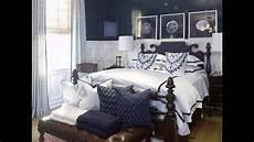 cool navy blue bedroom design ideas