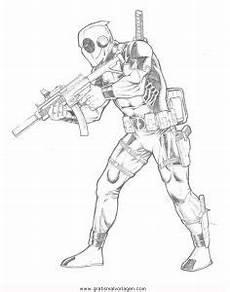 Malvorlagen Tiger Pool Deadpool 8 Gratis Malvorlage In Comic Trickfilmfiguren