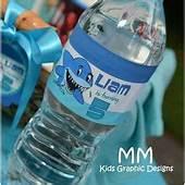 85 Best Water Bottle Labels Images  Printable