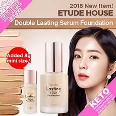 Etude House Lasting Foundation qoo10 etude house lasting serum foundation