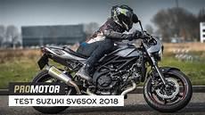 suzuki sv650x cafe racer test promotor
