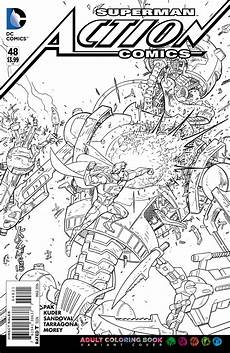 dc comics coloring book variants revealed coloring