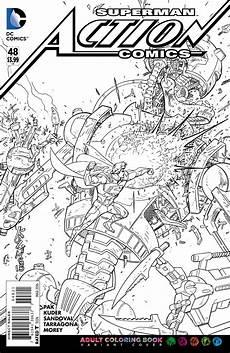 Malvorlagen Comic Dc Comics Coloring Book Variants Revealed Coloring
