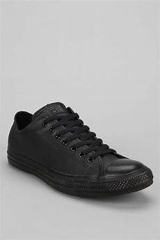 converse chuck all leather low top s