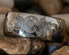 doctor who geek wedding ring gallifreyan