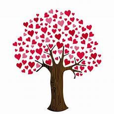 clipart alberi cuori di san valentino su clipart dell albero