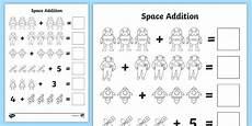 addition worksheets uk 9082 space addition with pictures worksheets worksheets worksheet