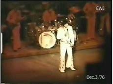 Elvis Presley   December 3 1976, Las Vegas (dinner show