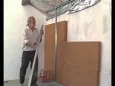isolation un isolation thermique de bois sur mur bricolage