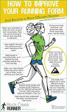 how to improve your running form infographic yuri in a hurry