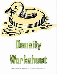 physical science measurement worksheets 13142 density worksheet two a science measurement resource middle school science middle school